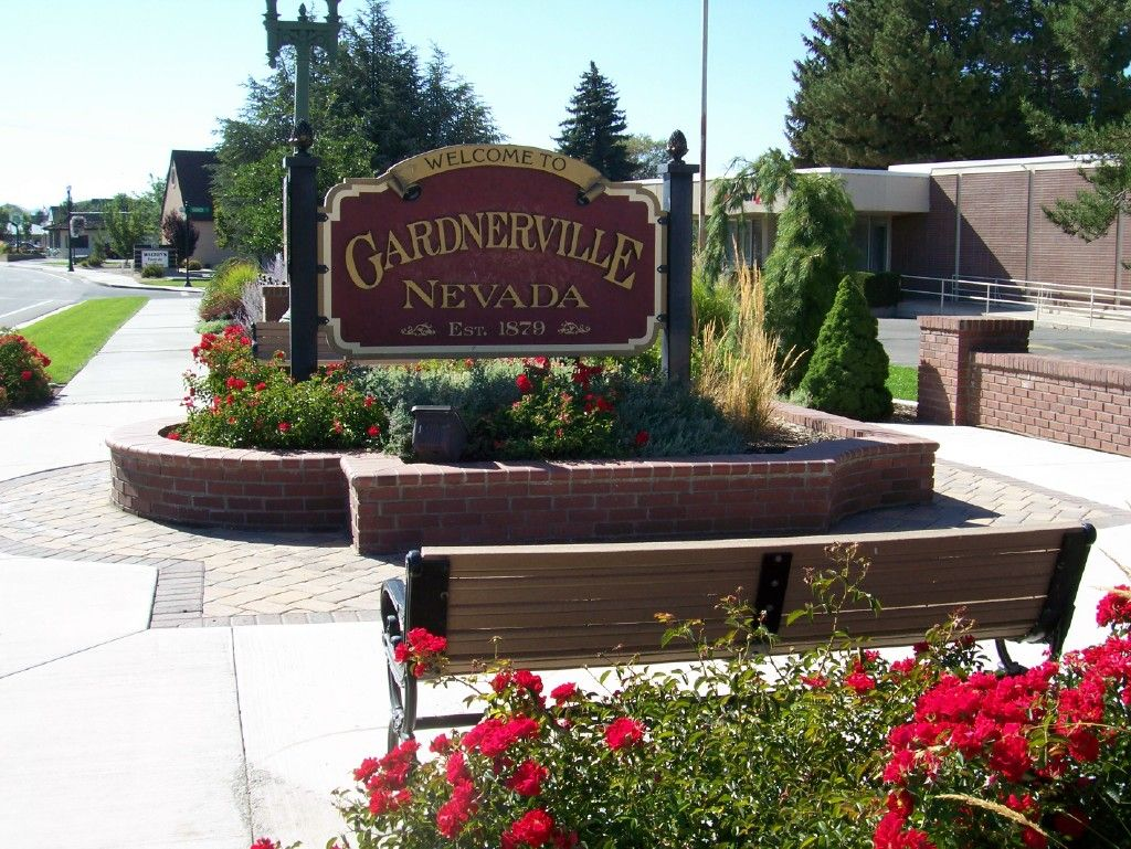 Gardnerville Welcome sign